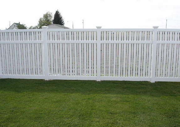 vinyl fencing. Modren Fencing Vinyl Semi Privacy Fence 11 Throughout Fencing
