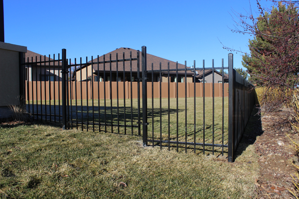 Wrought Iron Fence Vista 1