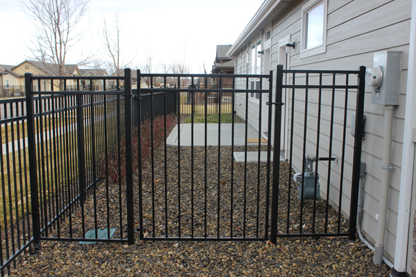 wrought iron western 3 rail -11