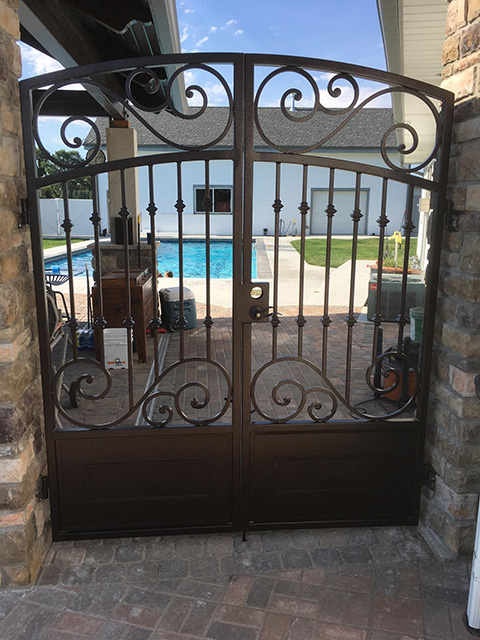 Wrought Iron Gate 2