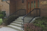 wrought iron rail 2