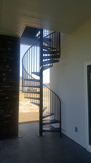 wrought iron stairs 1