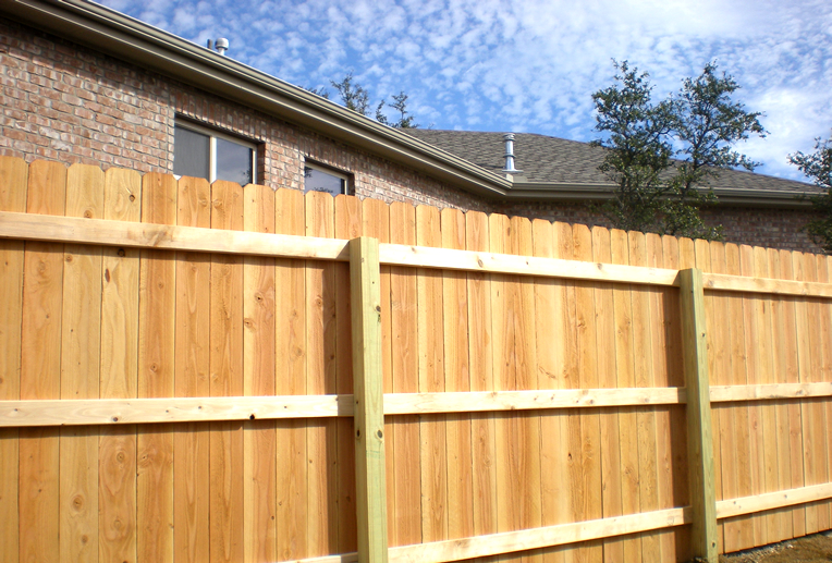 Dog Eared Cedar Fence 2