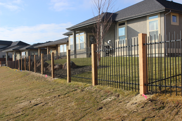 Wrought Iron Fence Can Enhance The Look Of Your Home